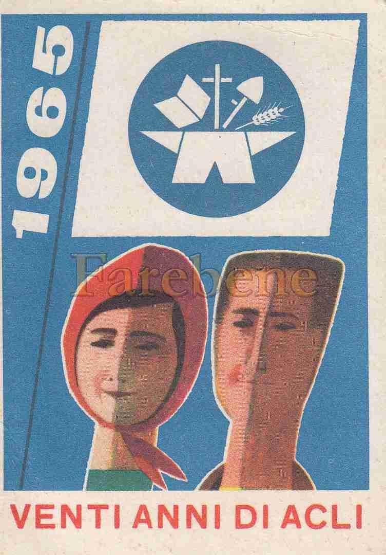 tessera acli 1965