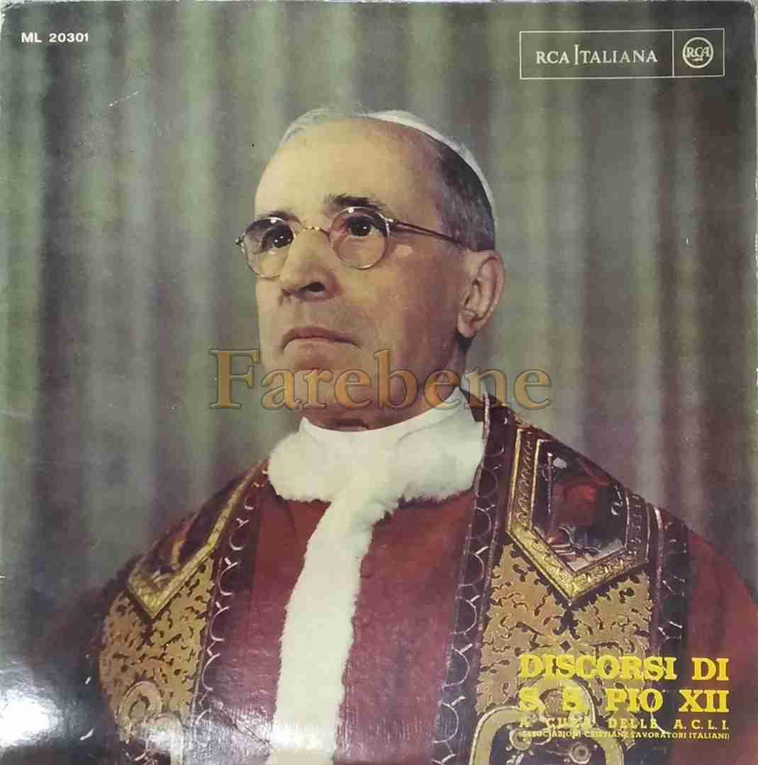 Acli 1 maggio 1955 decennio disco