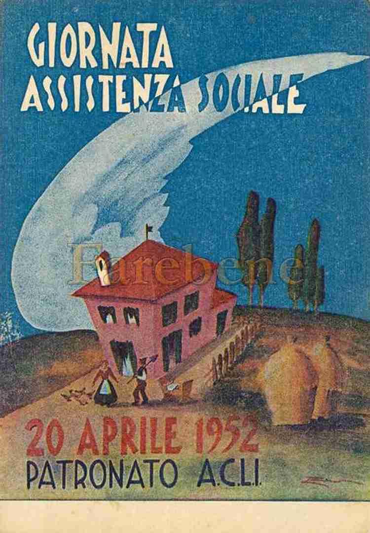 patronato acli giornata assistenza 1952