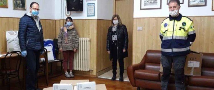 Consegnate 1500 mascherine alle Acli di Cuneo