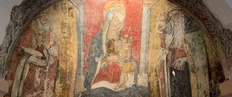 """Il Circolo Acli """"Grandi"""" di Ascoli restaura il Crivelli di Castignano"""