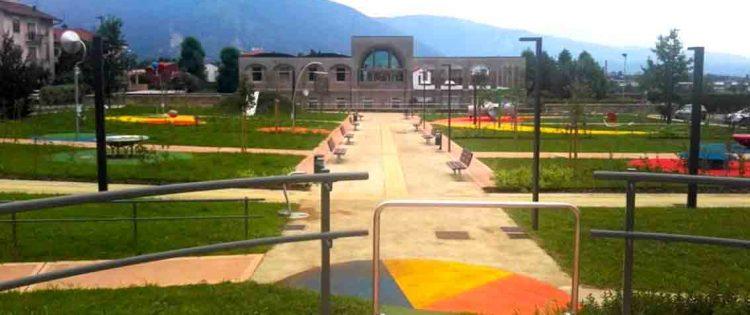 Dalle Acli di Vicenza attrezzature per il parco inclusivo di Schio