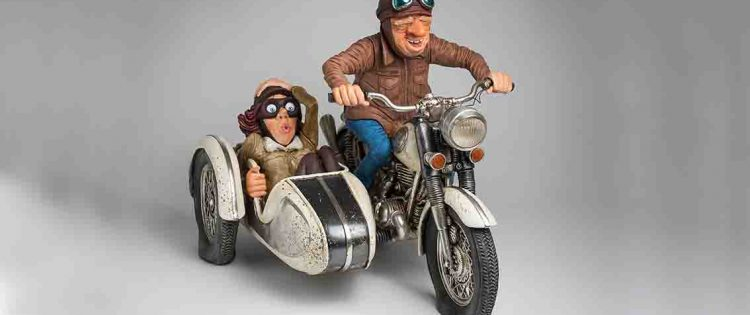 Sulle moto d'epoca con il Circolo Acli di Castelletto Stura